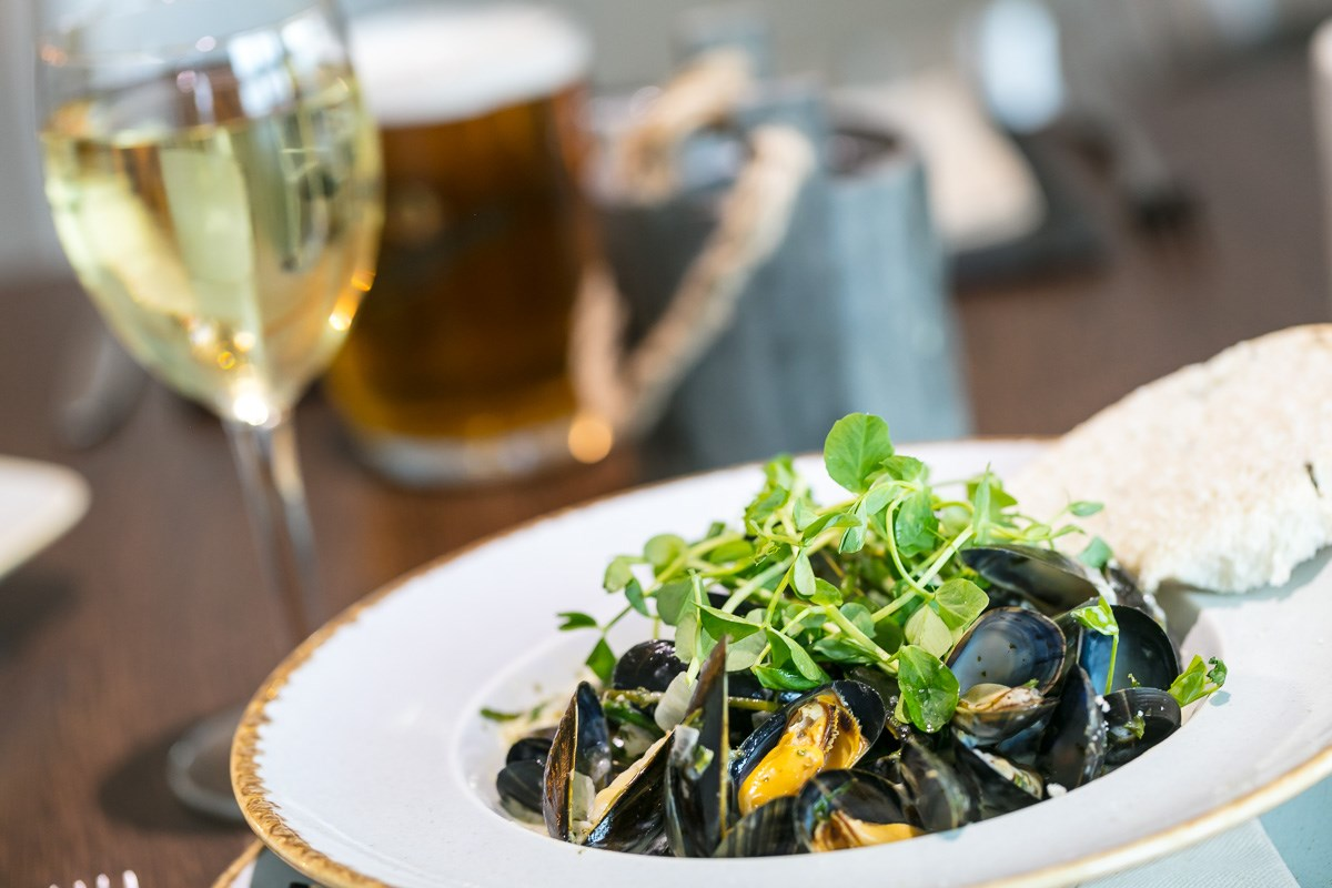 The Harbourmaster mussels