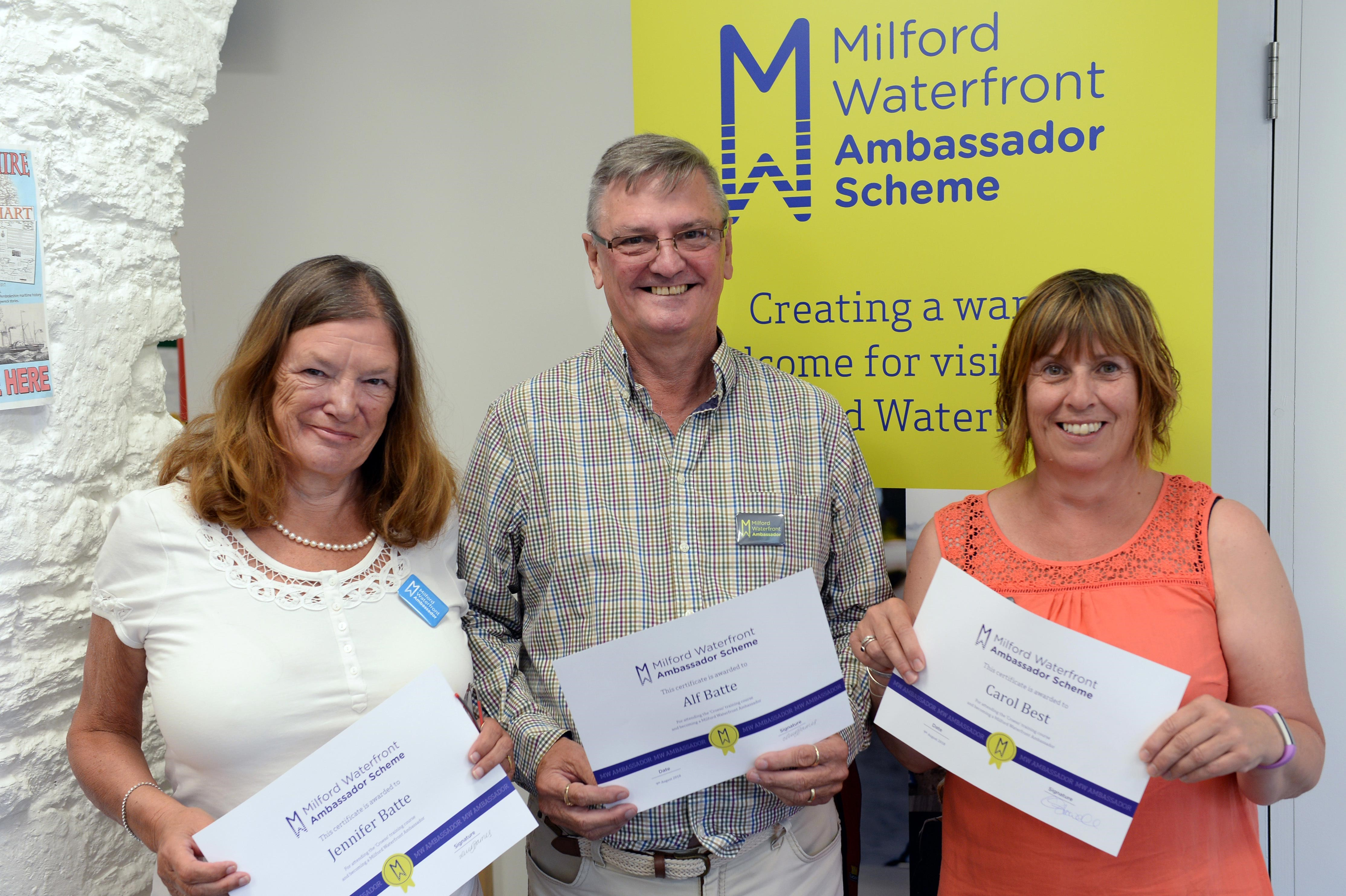 Milford Waterfront Ambassadors at Milford Haven Museum