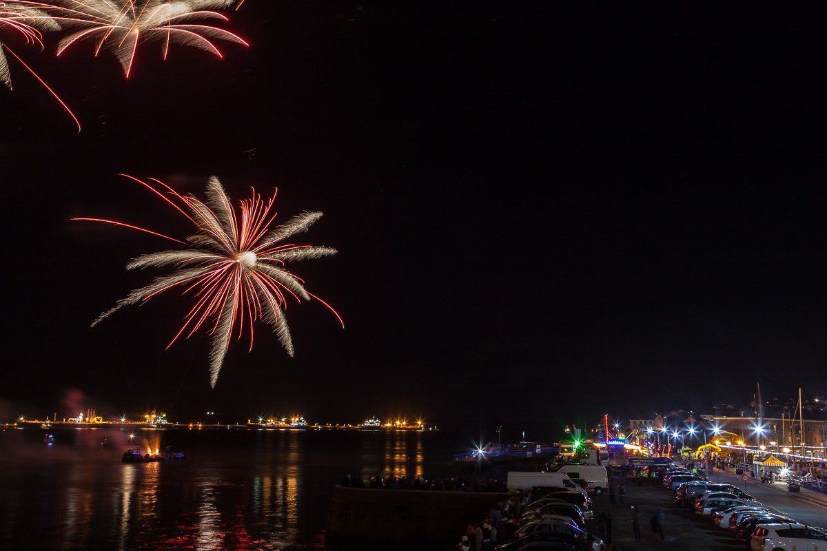 Milford Haven Firework Display