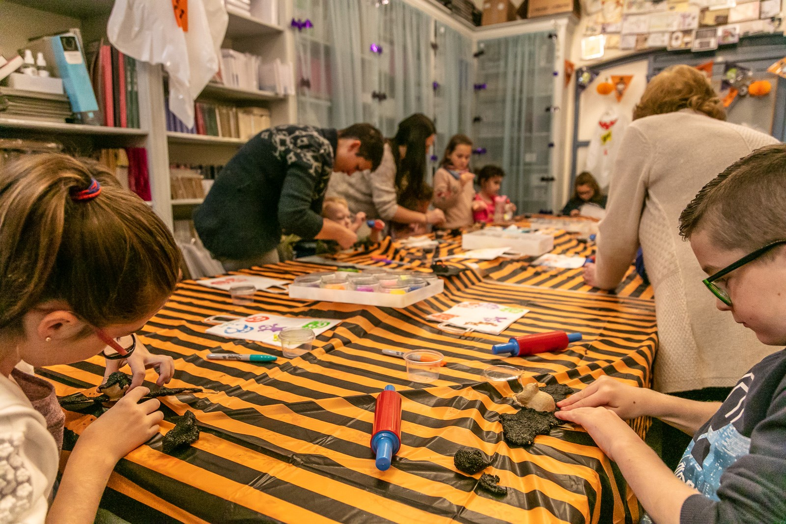 Children's craft workshop