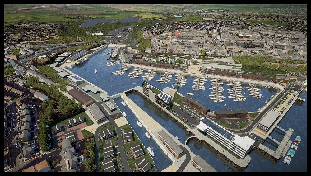 Milford Waterfront showcased by UK Government at MIPIM